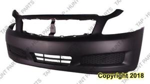 Bumper Front Without Sport Without Tech Sedan Infiniti G35 2007-2008