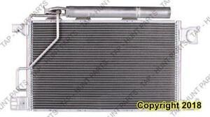Condenser (3385) Withhorizontal Receiver Drier [Clk Models 2005-2009] [C230/C280/C55/C350 2006-2007] Mercedes C-Class