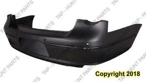 Bumper Rear Primed With Sensor Hole Sedan Volkswagen Passat 2006-2010