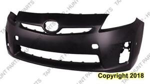 Bumper Front Primed With Sensor Hole/Halogen H/Lamp CAPA Toyota Prius 2010-2011