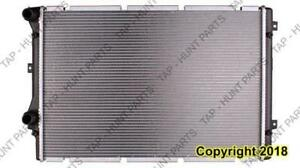 Radiator (13212) 2.0L Inlet And Outlet On Same Tank Audi A3 2008-2013