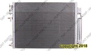Condenser (3897) With Transmission/Power Steering Oil Cooler Chrysler 300 2009-2010