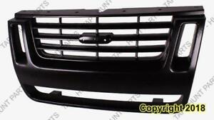 Grille Black With Ironman Package With Sport Ford Explorer 2007-2010