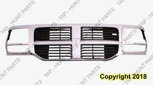 Grille Black With Chrome Frame Dodge Nitro 2007