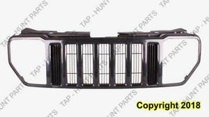 Grille With Black Moulding Jeep Liberty 2008-2012