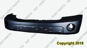 Bumper Front Primed With Fog Lamp Hole With Moulding /Tow Hook Capa Dodge Durango 2007-2009