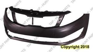 Bumper Front Primed Ex/Lx Model (Usa Built Without Tow) Capa Kia Optima 2012-2013