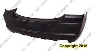 Bumper Rear Primed With Sensor Hole CAPA Dodge Charger 2011-2014