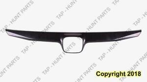 Grille Moulding Black 2.0L Honda Civic 2009-2011
