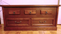 COFFRE CEDRE STYLE COLONIAL RUSTIQUE CHEST