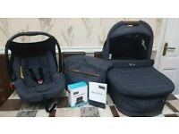Mamba Plus Carry Cot, Car Seat, Changing Bag and Adapters
