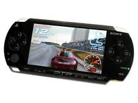 BLACK SONY PSP CONSOLE