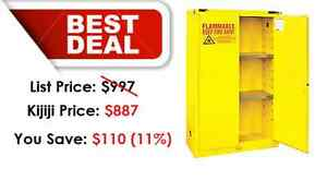 Flammable Safety Cabinet - HUGE STOCK Kitchener / Waterloo Kitchener Area image 1
