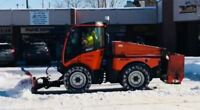 DRIVER WANTED - SIDEWALK SNOW CLEARING OPERATOR