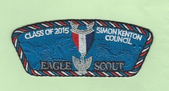2015 SIMON KENTON COUNCIL EAGLE SCOUT CSP  SA-313  CUT EDGE  250 MADE