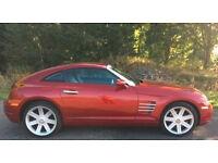 2006 Red Chrysler Crossfire 3.2L V6, APR MOT, 6 speed MT