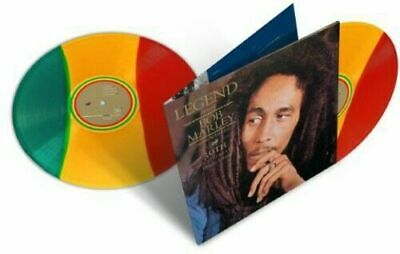 Bob Marley & The Wailers- Legend The Best Of 30th Anniversary 2LP Tri-Color Viny