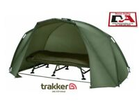 Trakker tempest brolly with extras carp fishing bivvy