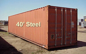 40' and 20' used shipping storage containers - SEA Cans on sale