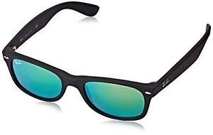 ea8466af42 Original Ray Ban RB 2132 622 19 Black Frame Green Lens Wayfarer 52mm  Sunglasses