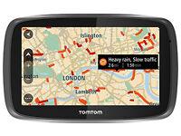 TomTom GO 50 5 Inch Traffic Sat Nav Europe Lifetime Maps