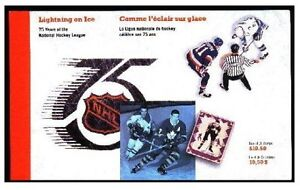 NHL Commemorative Booklet of Stamps