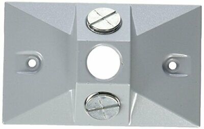 Greenfield C3sps Series Weatherproof Electrical Outlet Box Cover Gray