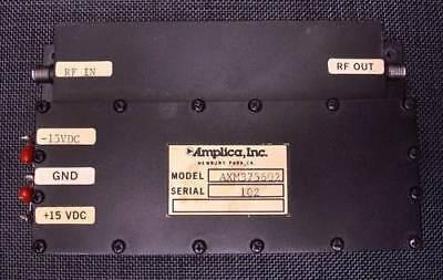 Amplica Microwave Rf Amplifier No. Axm375602 Nice