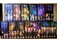 BUFFY THE VAMPIRE SLAYER COMPLETE COLLECTION VHS TAPES