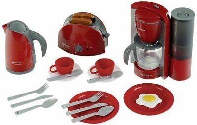 Küchenset Theo Klein 9564 Bosch Frühstücksset Kaffeemaschine Toaster rot B-WARE