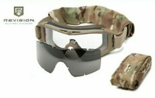 Military Issued Revison Desert Locut Goggle System