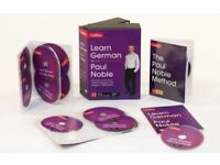 Learn German with Paul Noble Collins - 12 CDs, Booklet, DVD Collection Box Set