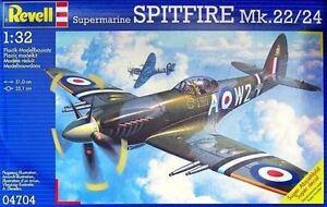 Revell Model Kit - Supermarine Spitfire Mk.22/24 Plane - 1:32 Scale - 04704