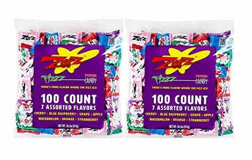 Zotz Fizzy Candy Assorted Flavors 200 Count