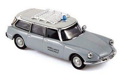 Citroen ID 19 break ''63 Ambulance Municipale NOREV Echelle 1/87 Ho