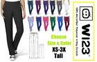 White 1X Size Workwear Scrubs