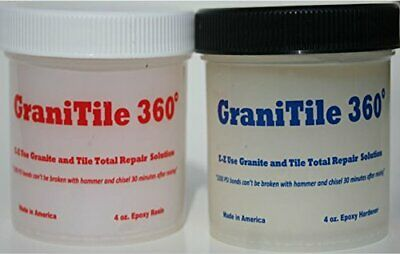 Granitile 3608 Oz. Epoxy Knife-grade Kit. Specifically Formulated For Granite