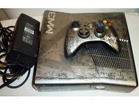 mw3 xbox 360 slim 320gb with 12x games