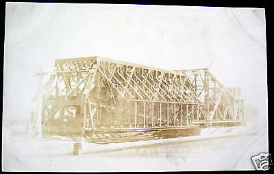 PANAMA CANAL ?~1920's EMERGENCY DAM ~ RPPC