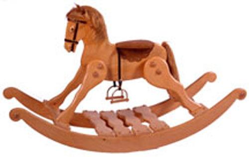 BLUEPRINT...PLAN...LARGE CLASSIC ROCKING  HORSE Woodworking Blueprint Plan