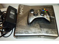 mw3 xbox 360 320gb console + 2 controller( with battery)320gb hard drive in good condition text only