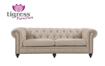 NEW Stunning Royale Chesterfield Sofa Lounge Couch Hampton Style