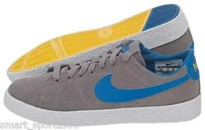 check out 15726 1aaef JUNIOR Nike Blazer Mid Vintage (GS) - 539929 042-Grigio Blu Scarpe