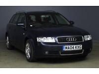 Audi A4 2.5 V6 TDi Quattro Blue 12 MONTHS MOT FULL HISTORY TOWBAR £1599