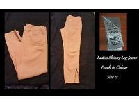 M&S Skinny Leg Jeans Size 12