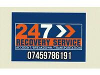 Adams 24/7 cheap car bike van recovery breakdown from £20 call or text details
