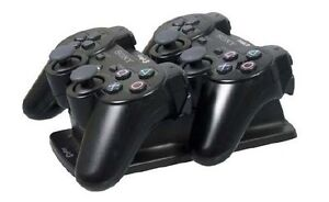 BrandNew-Logic3-PS3-Playstation-3-Dual-Double-Charge-Stand-ps922