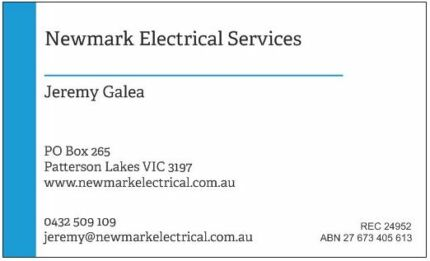 Newmark Electrical Services Chelsea Kingston Area Preview