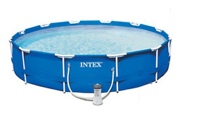 INTEX above ground pool and accessories