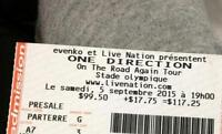 Billet concert One Direction On The Road Again Tour Montreal